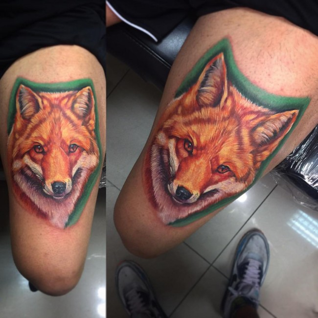 fox tattoo30