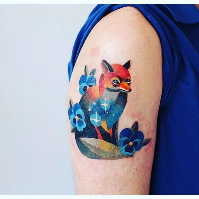fox tattoo31