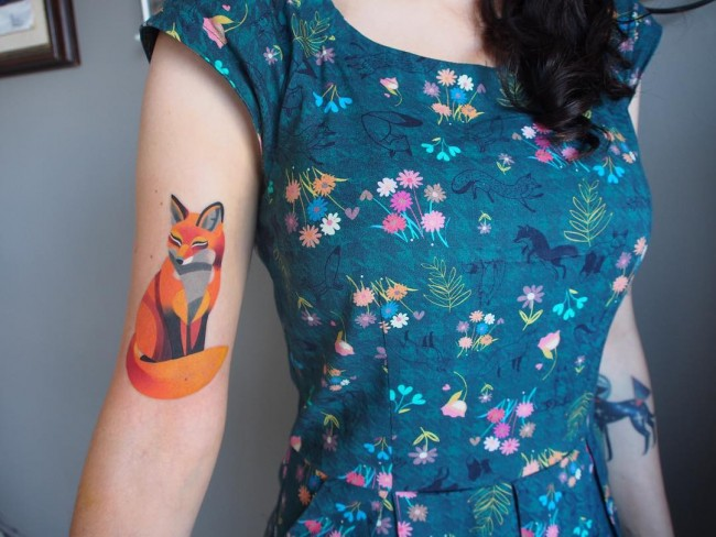 fox tattoo32