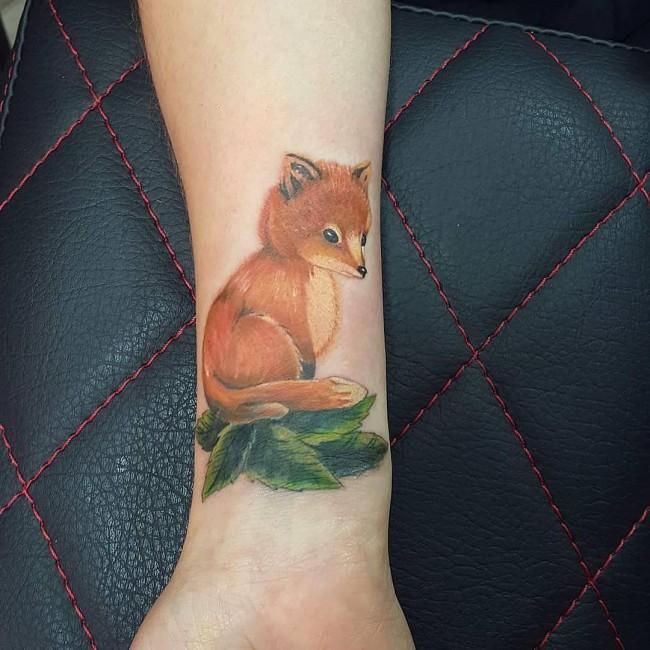fox tattoo35