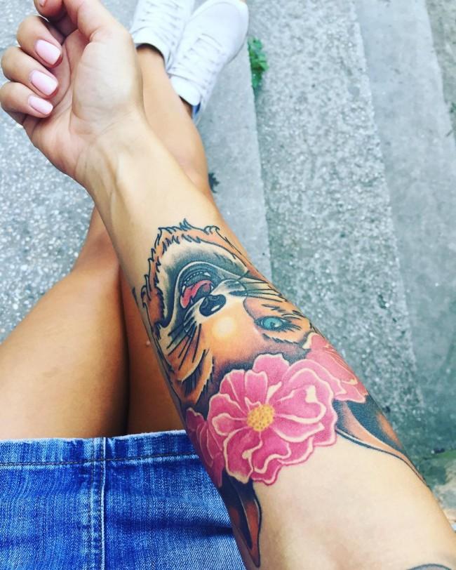 fox tattoo38