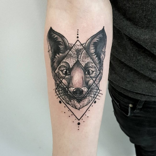 fox tattoo39