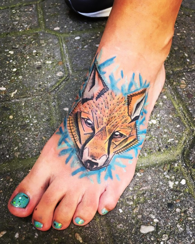 fox tattoo40