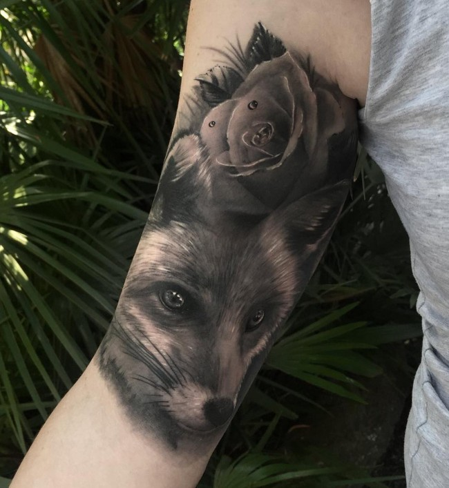 fox tattoo42