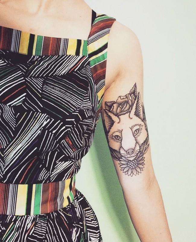 fox tattoo43