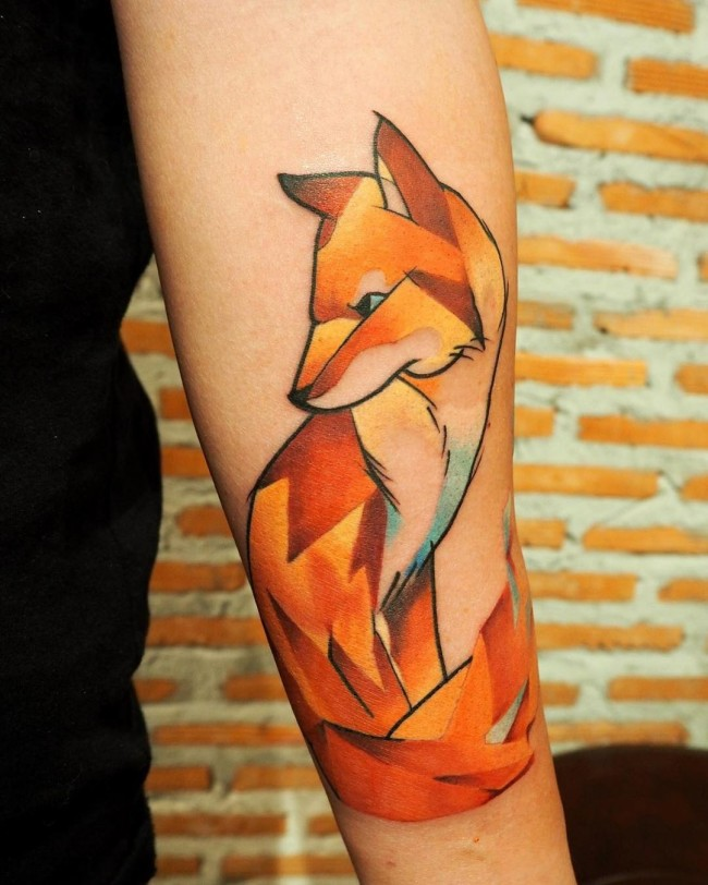 fox tattoo44