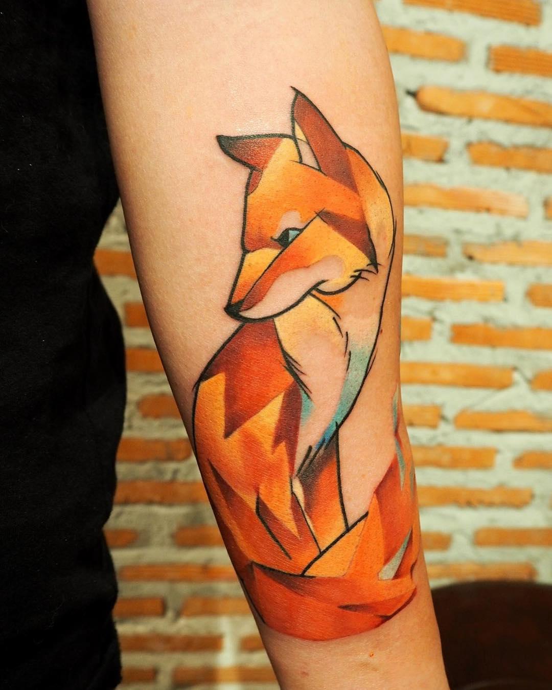 Значение тату лиса - Татуировки и их значение 62