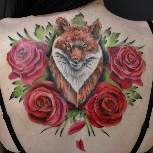 fox tattoo45