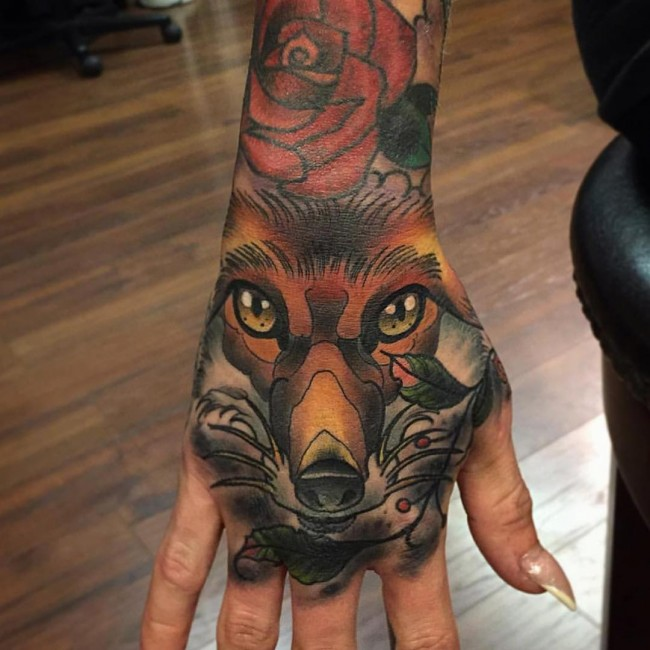 fox tattoo46