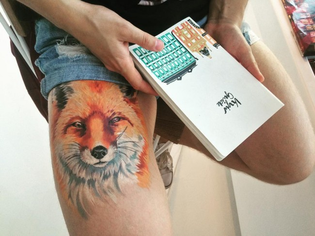 fox tattoo47