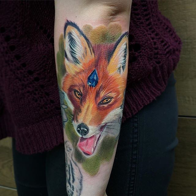 fox tattoo49