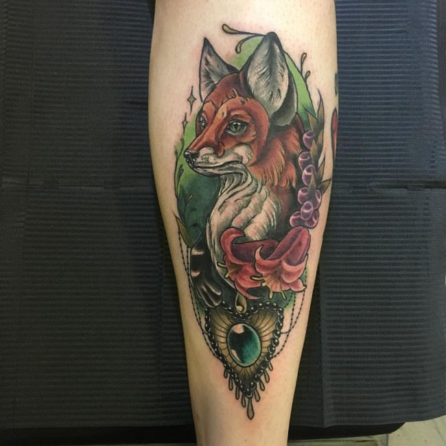 fox tattoo51