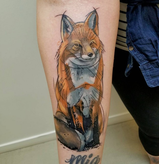 fox tattoo54