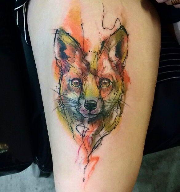 fox tattoo8