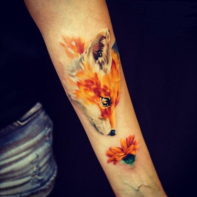 fox tattoo9