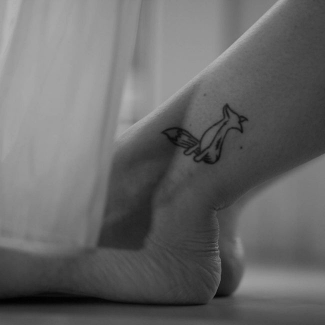 fox tattoo_