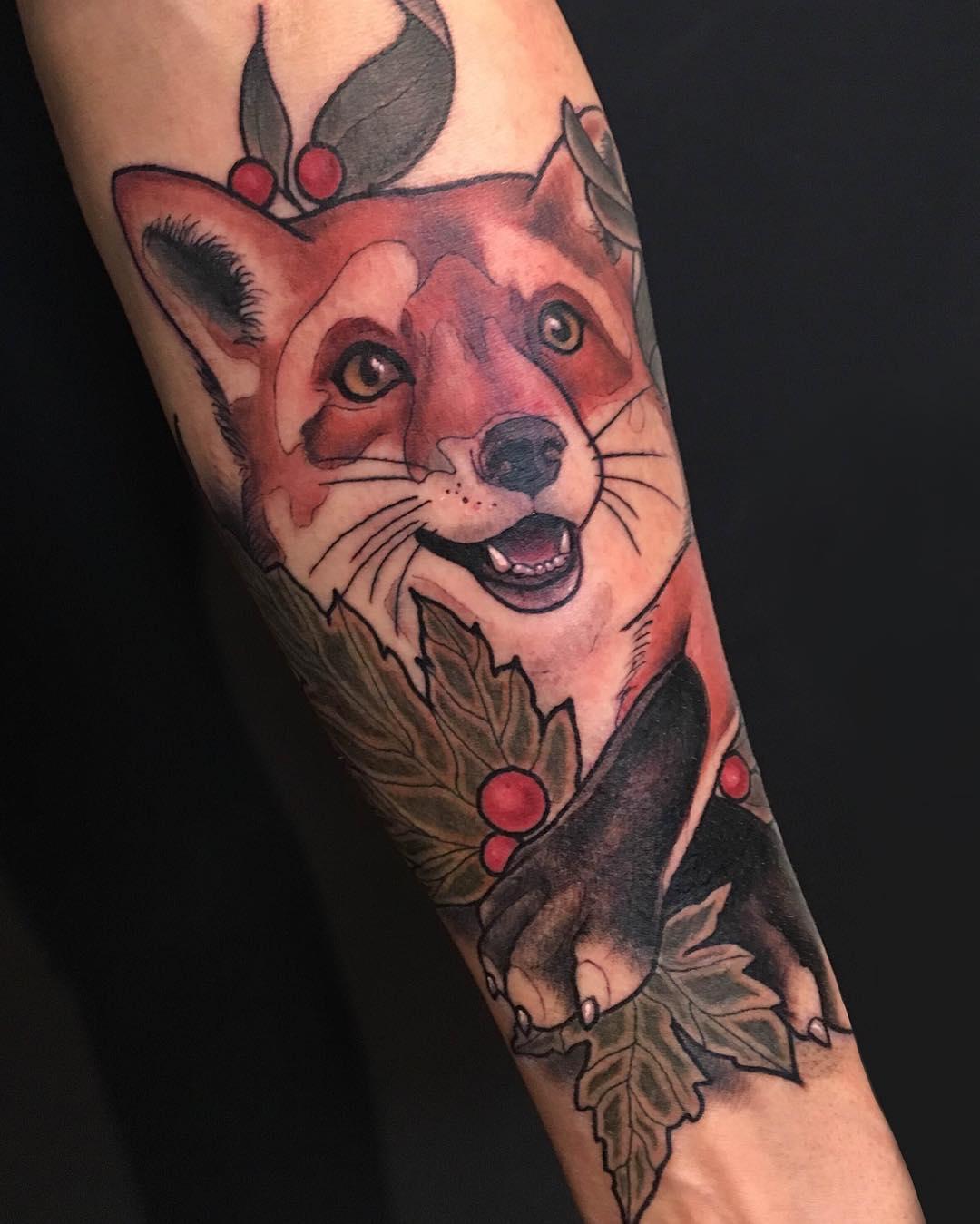 125+ Majestic Fox Tattoo Designs