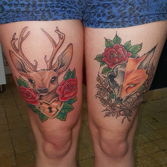 fox tattoo_
