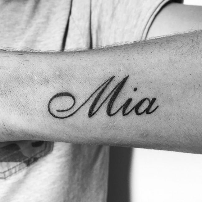 initial tattoo 14