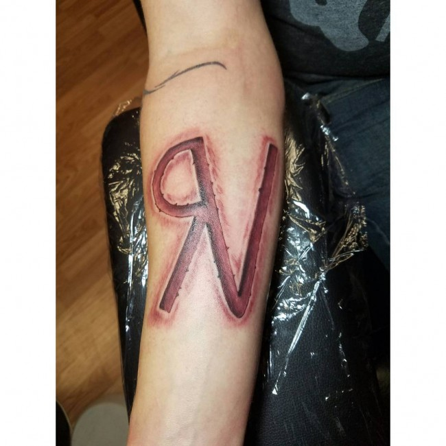 55 Charming Initial Tattoo Designs
