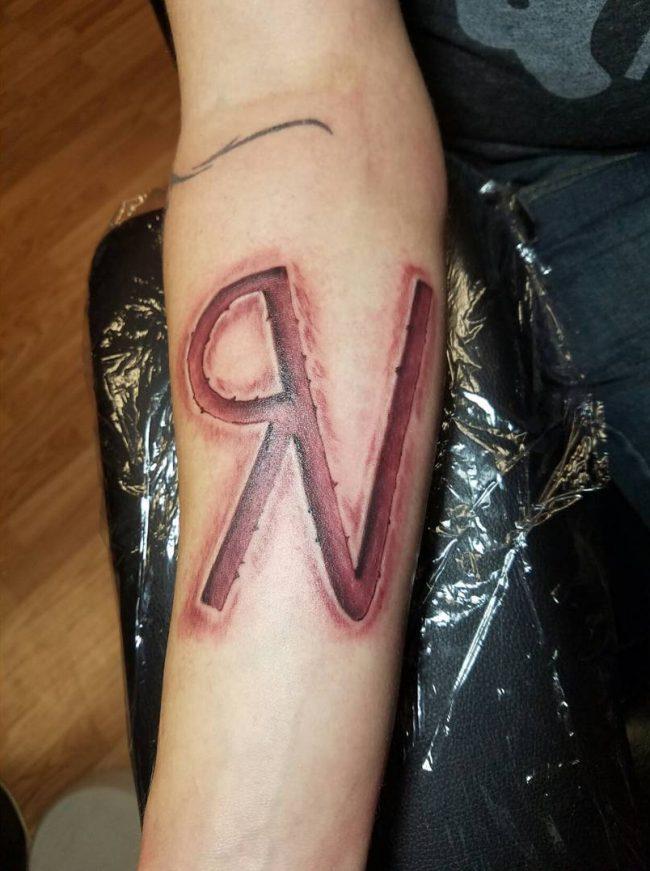 initial tattoo 20