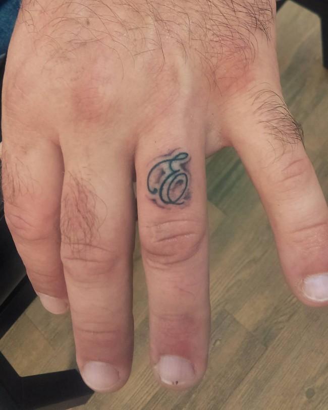 initial tattoo 30