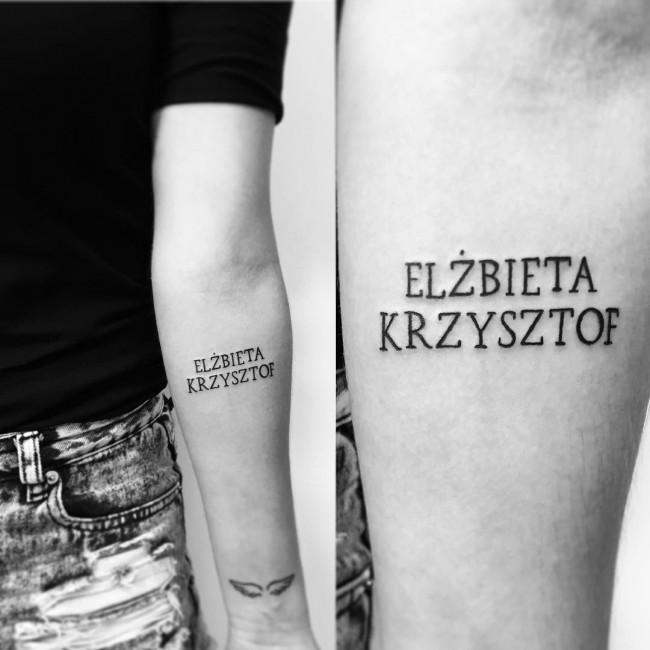 initial tattoo 7