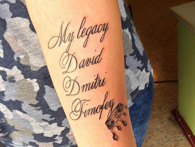 initial tattoo 9