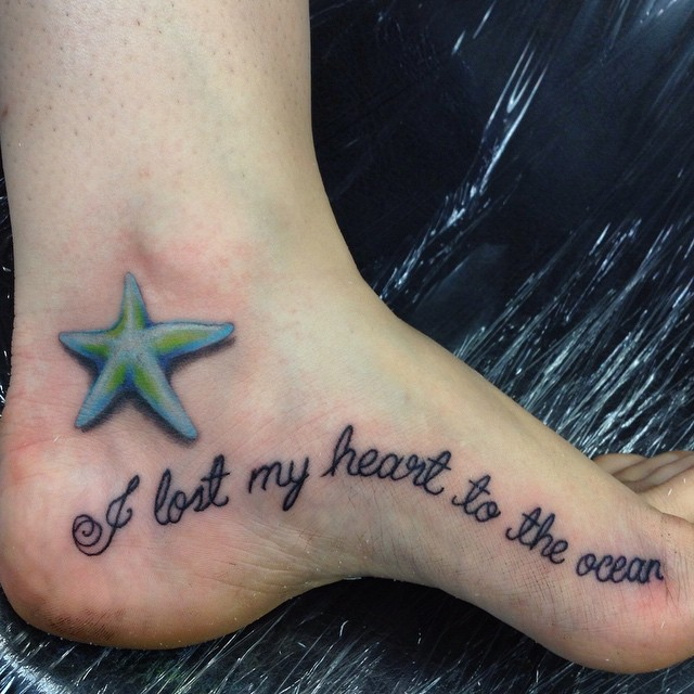 starfish tattoo22