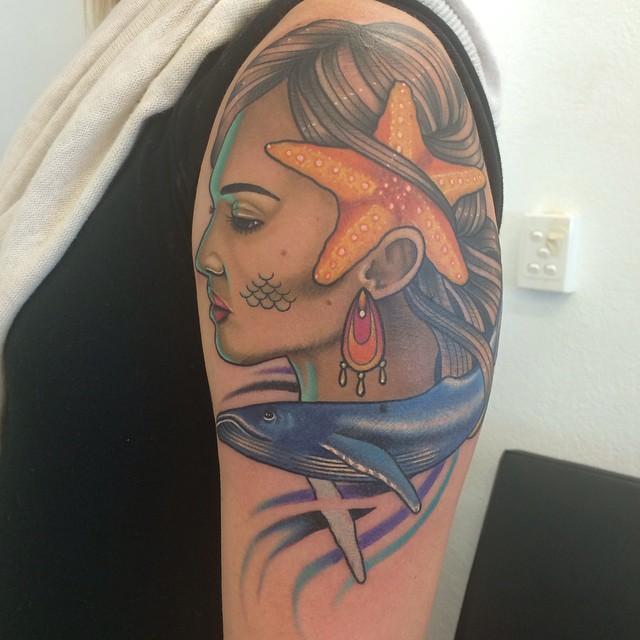 starfish tattoo23