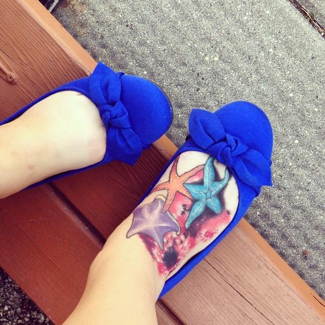 starfish tattoo30