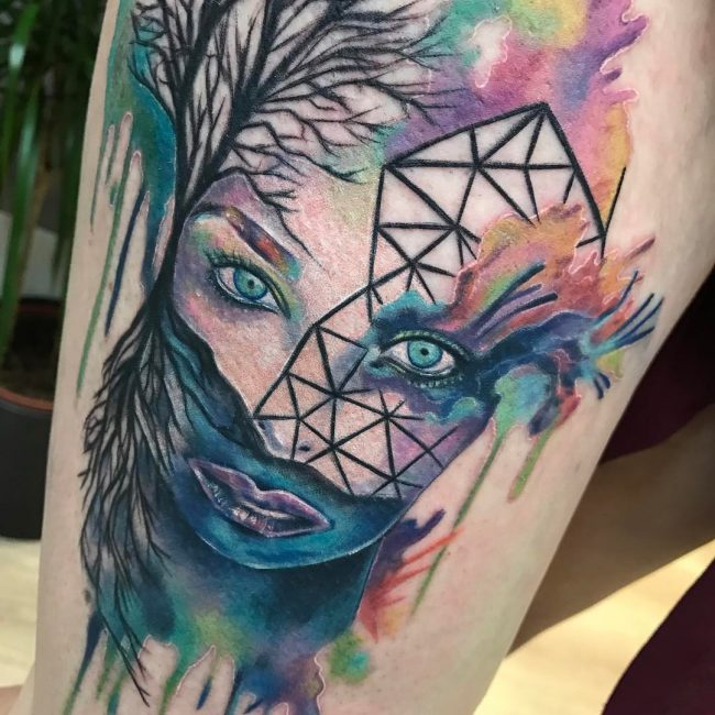 Abstract Tattoo_