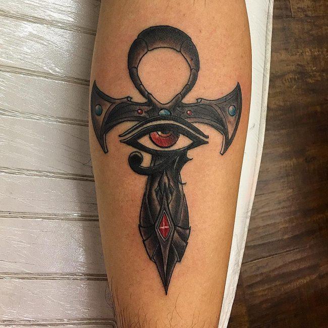Ankh Tattoo_