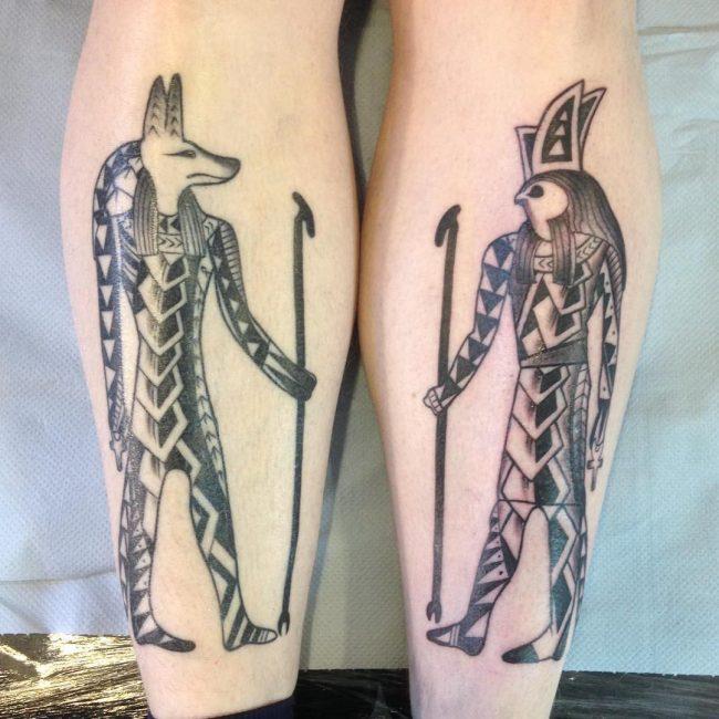 Anubis Tattoo_