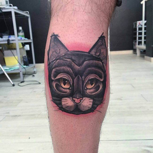 Black Cat Tattoo_