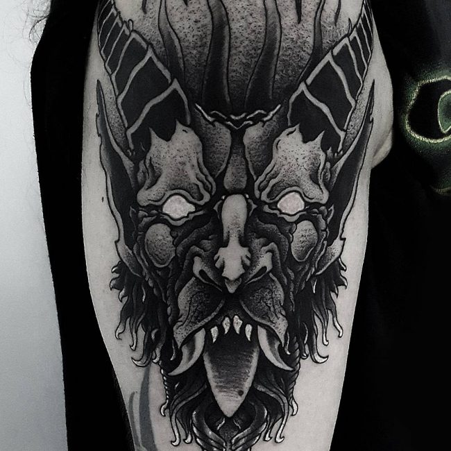 Blackwork Tattoo_