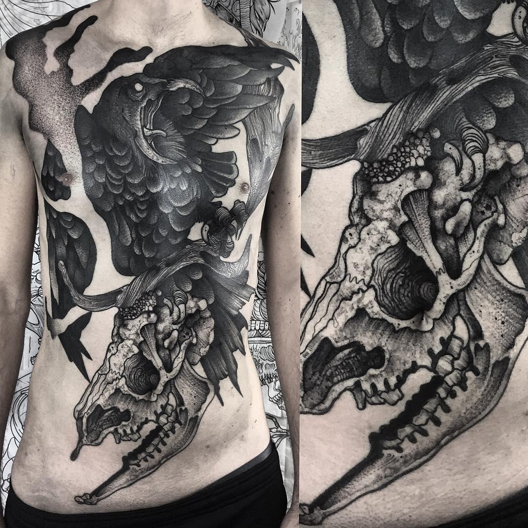 100+ Delightful Blackwork Tattoo Designs