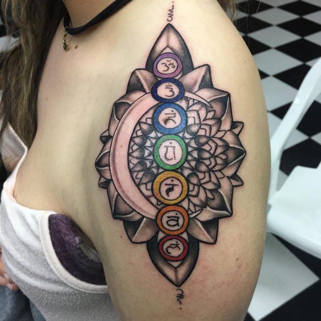 Chakra Tattoo_