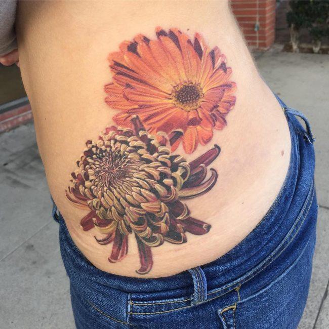Chrysanthemum Tattoo_