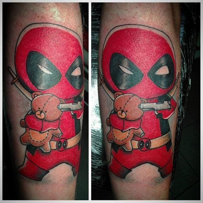 Deadpool Tattoo_