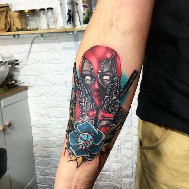Deadpool Tattoo_