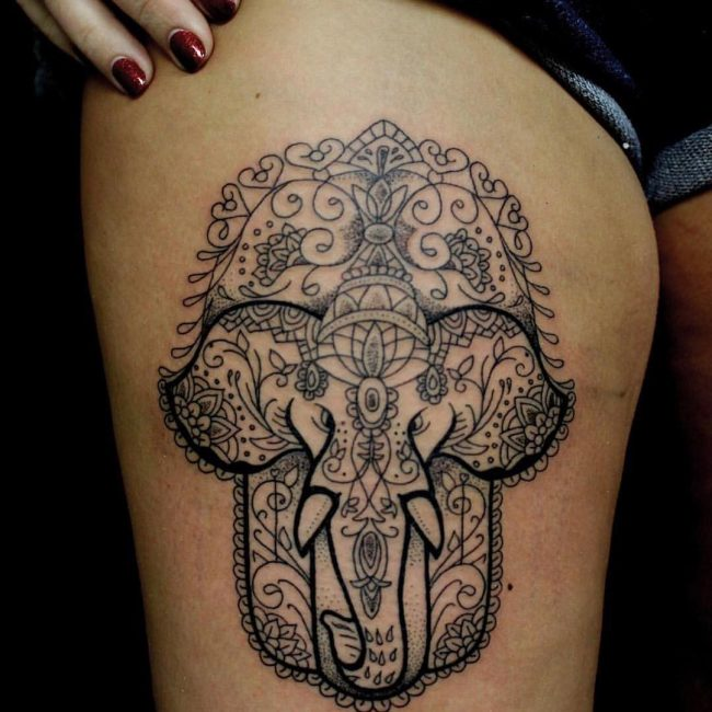Elephant Tattoo_