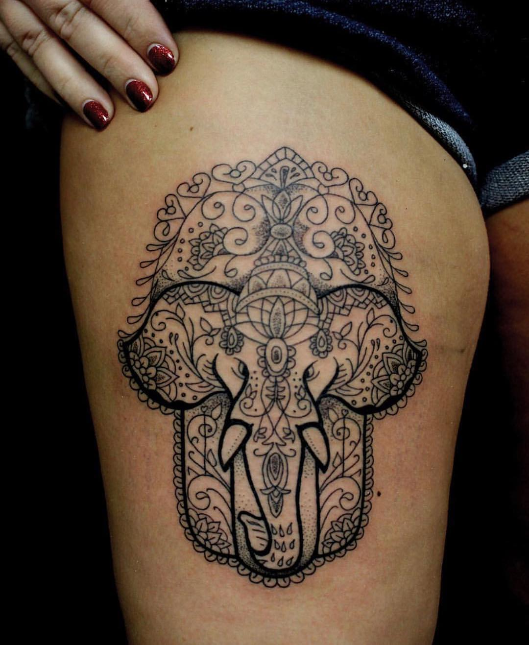 125+ Cool Elephant Tattoo Designs - Deep Meaning and Symbolism
