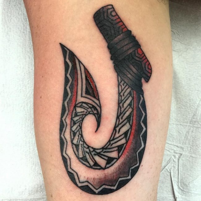 75 Cool Fish Hook Tattoo Ideas Hooking Yourself With Ink Worth Designs