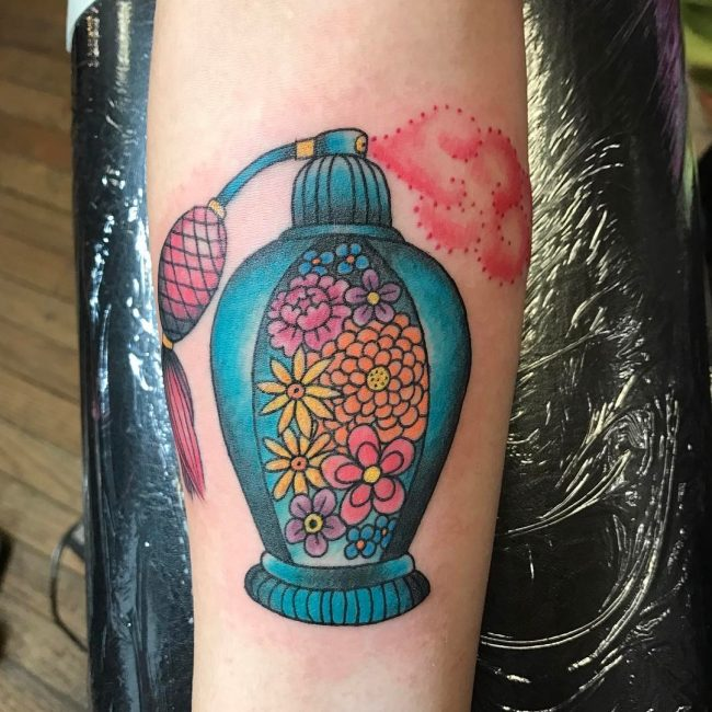 Floral Tattoo_