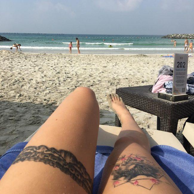 Garter Tattoo_