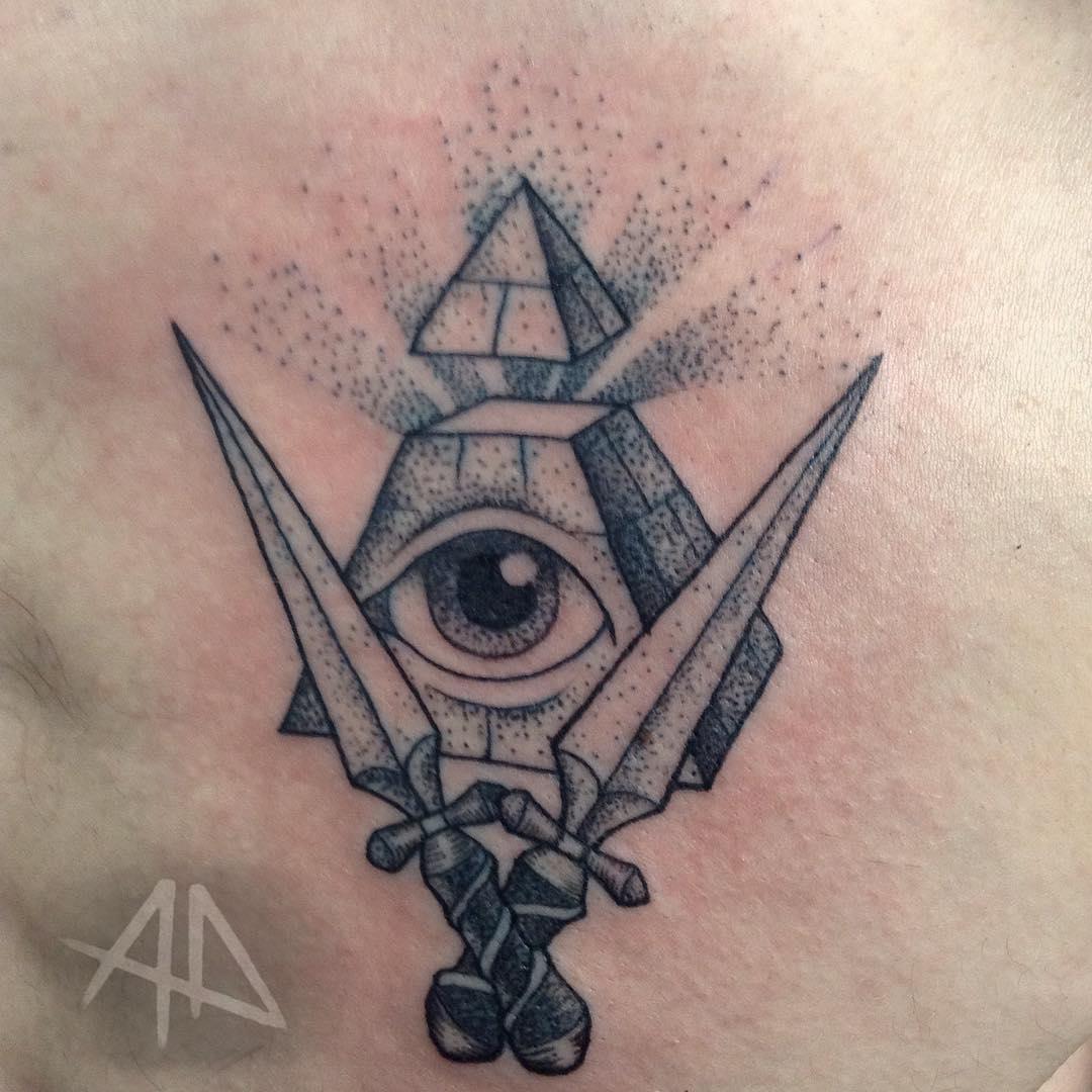 60+ Mysterious Illuminati Tattoo Designs - Enlighten Yourself