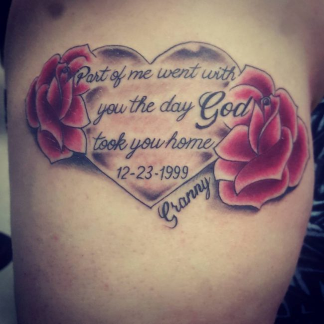 In Memory Tattoo_