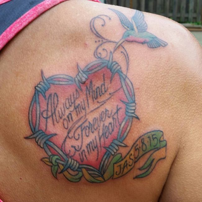 In Memory Tattoo_