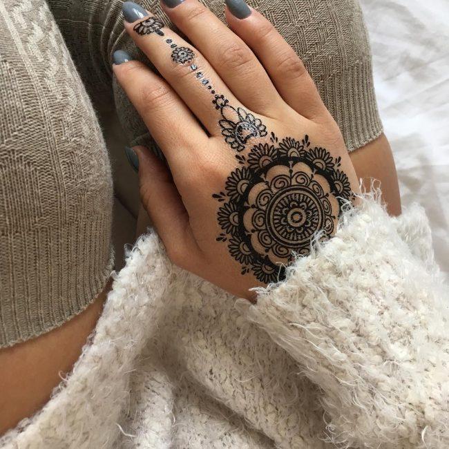 Lace Tattoo_